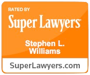 Stephen L. Williams Super Lawyers badge